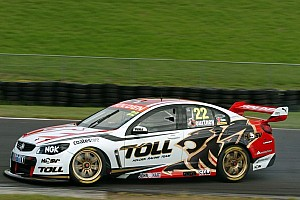 Supercars Breaking news Courtney and Coulthard first to drive a V8 Supercar on American soil