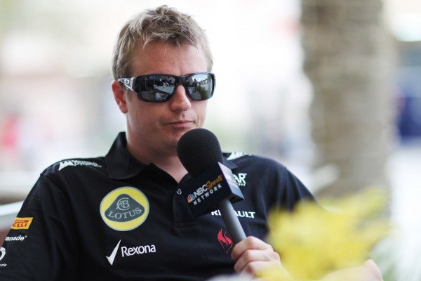 Raikkonen 'very happy' with 2014 contract talks - Boullier