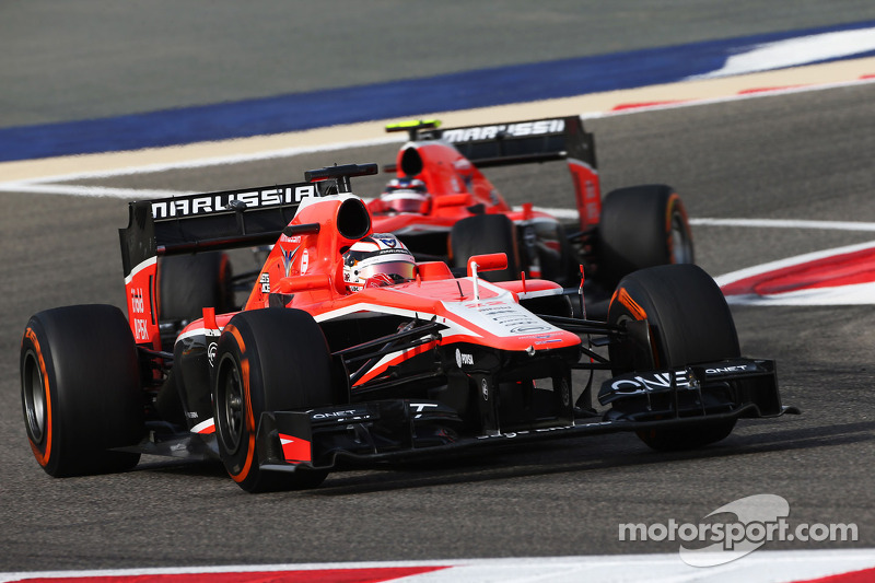 Marussia plays down Lloyds exit