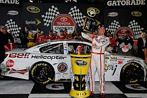 NASCAR Sprint Cup Race report Harvick goes to victory lane at Richmond International Raceway