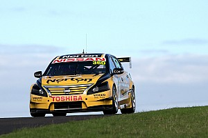 V8 Supercars Race report Moffat bags two more top 10s at Barbagallo Raceway