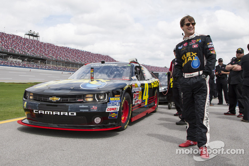 Landon Cassill is looking to rebound at Darlington Raceway