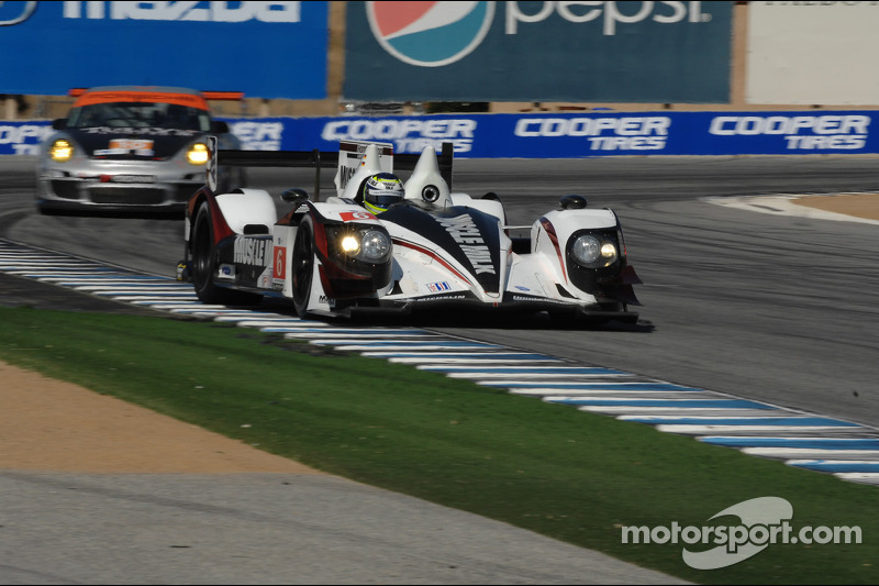 Third place start for Pickett Racing at Laguna Seca