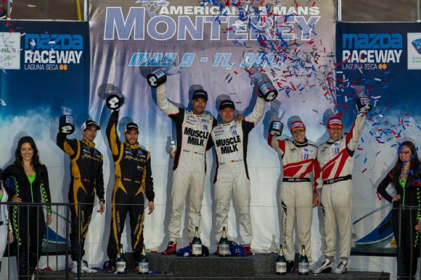 Luhr sets victory record with Muscle Milk triumph in Monterey