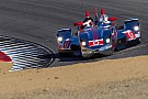 Podium for DeltaWing at Monterey
