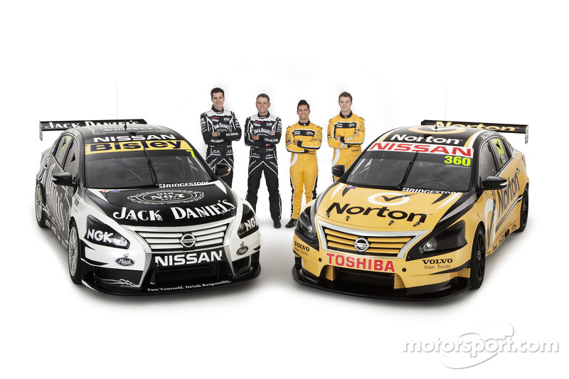 Nissan Altima a familiar sight for American race fans as V8s make Stateside debut