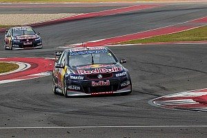 V8 Supercars Race report Whincup beats teammate Lowndes in first two V8 Supercars' races on Circuit of The Americas
