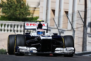 Formula 1 Practice report Maldonado and Bottas spent Thursday in Monaco evaluating both Williams cars