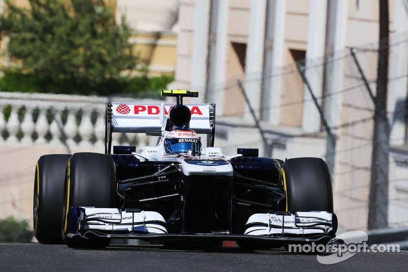 Maldonado and Bottas spent Thursday in Monaco evaluating both Williams cars