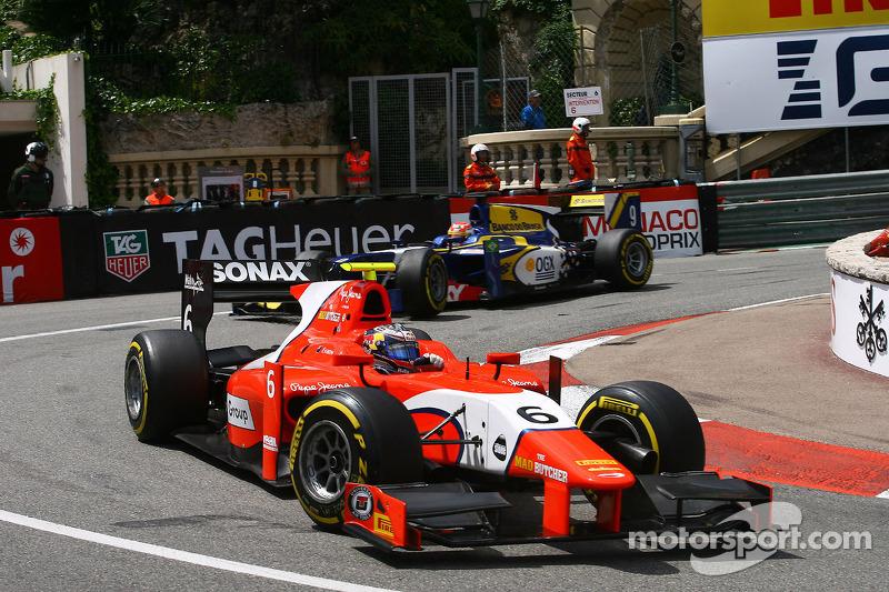 Double podium for Evans in Monaco