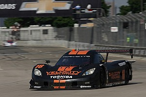 Grand-Am Qualifying report Jordan Taylor leads Detroit qualifying, captures first DP pole