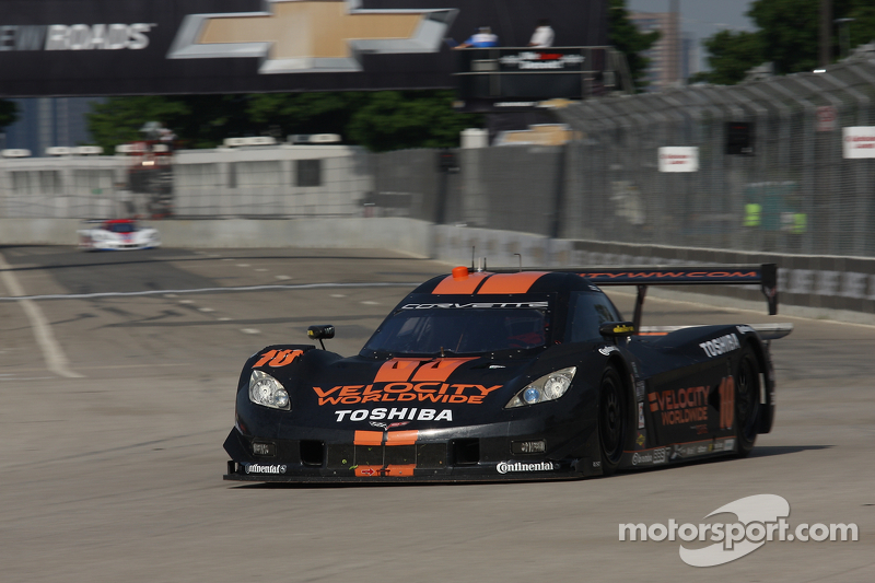 Jordan Taylor leads Detroit qualifying, captures first DP pole