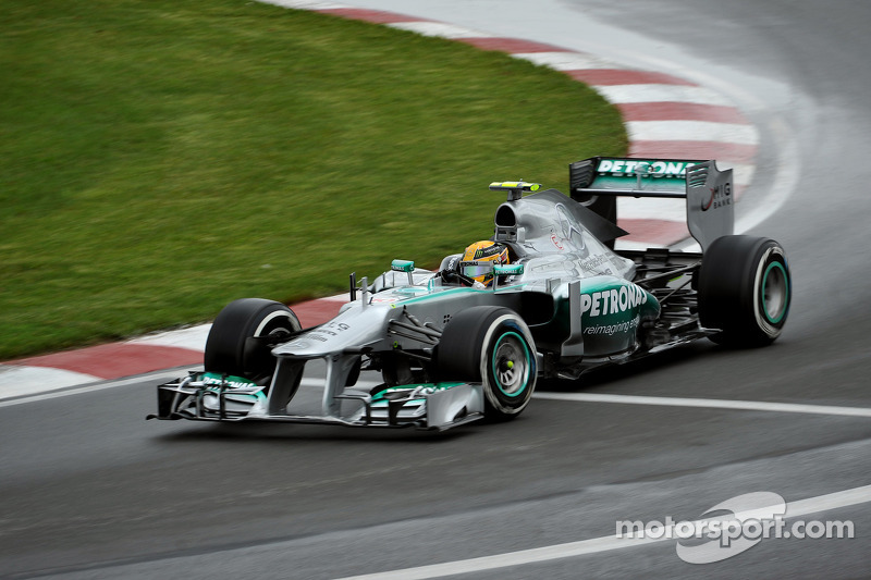 Solid performance for Mercedes on Friday practice in Montreal