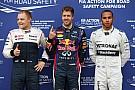 Vettel sails through the rain to take Canadian GP pole