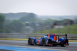 A good Le Mans test day for Panciatici and Alpine