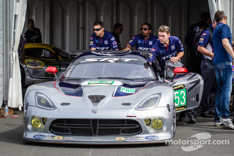 SRT Motorsports adjusting to Le Mans