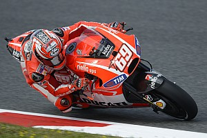 MotoGP Qualifying report Second, third rows for Ducati Team at Catalan GP