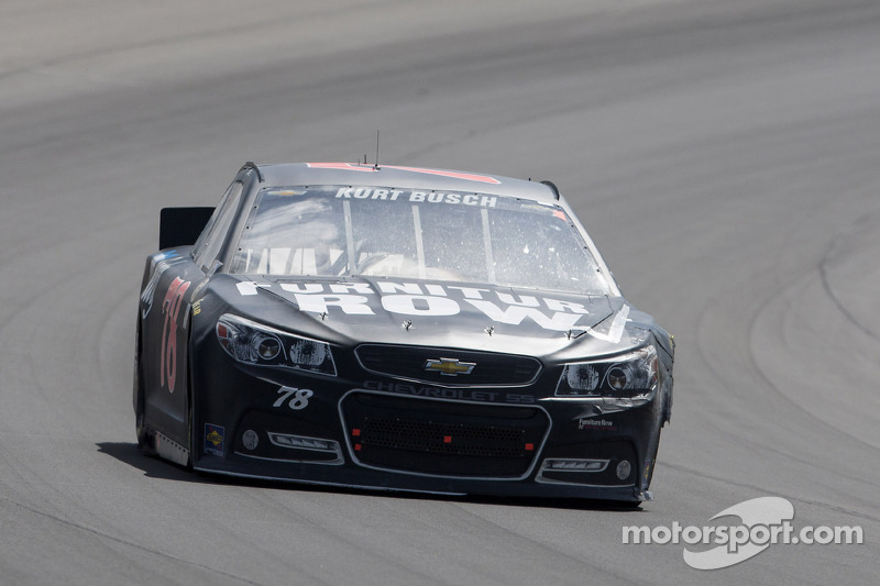 Damaging spin spoils Kurt Busch's strong start in Michigan