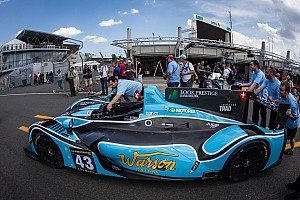 Le Mans Breaking news Scrutineering under bright sunshine for Morand Racing