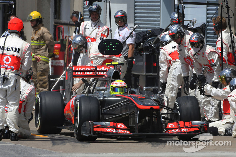 McLaren is preparing for 'home' Grand Prix