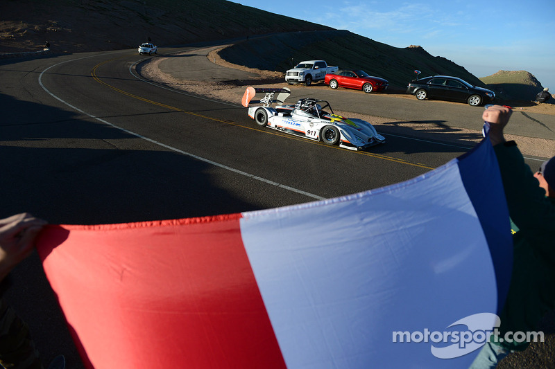 Final dress rehearsal for Romain Dumas - Pikes Peak