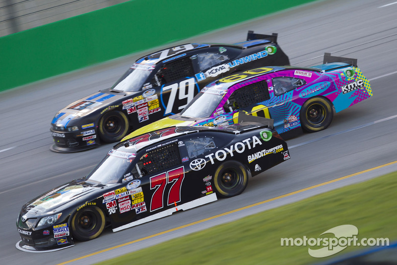 Kligerman fights from two laps down to finish 16th in rain-shortned feed the Kentucky 300