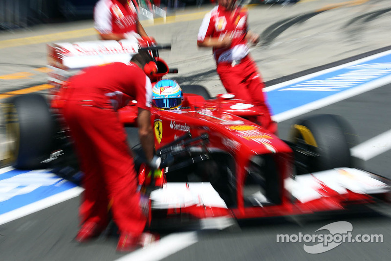 A strategic qualifying for Ferrari in German GP