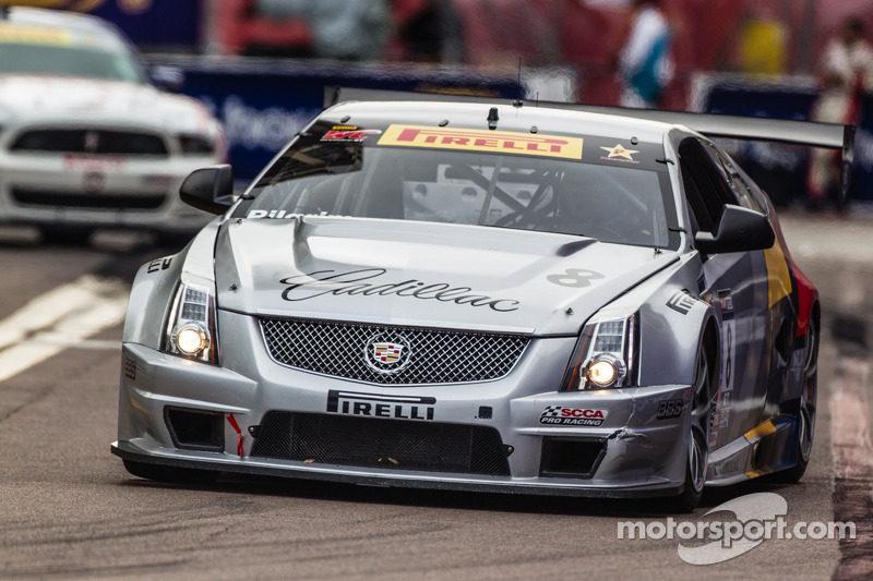 Team Cadillac second and third in race one at Lime Rock