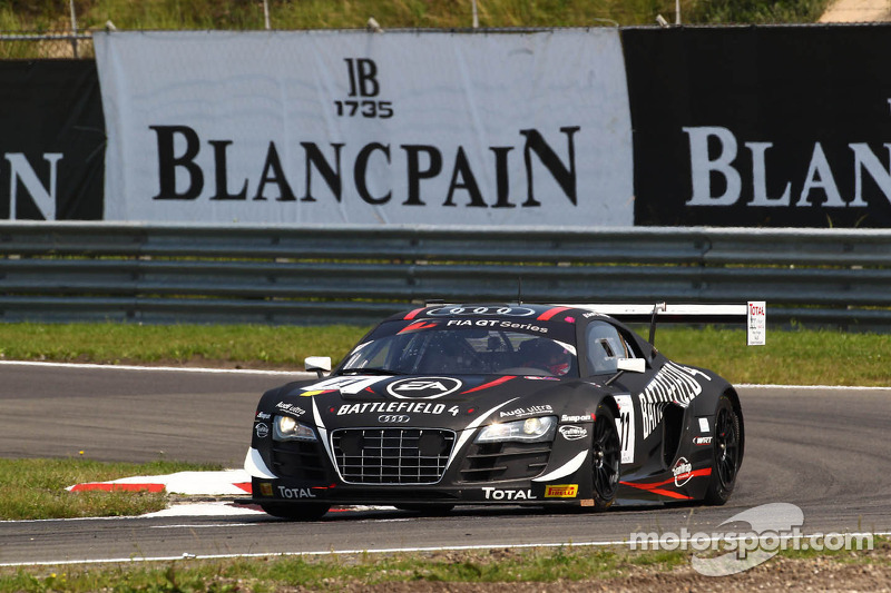 WRT win qualifying race, but HTP Gravity Charouz show pace in Zandvoort