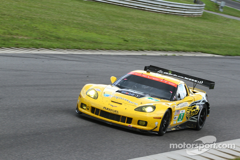 Second place for Garcia, Magnussen at Lime Rock