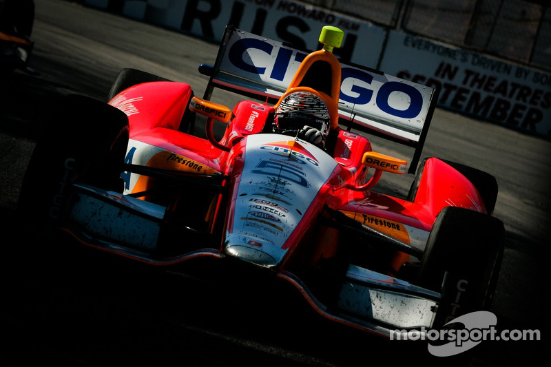 Viso's fifth place finish was the best result for Andretti Autosport in Canada