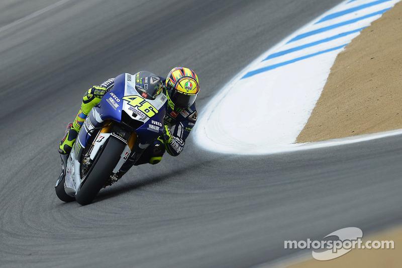 Yamaha gets down to business in Laguna Seca