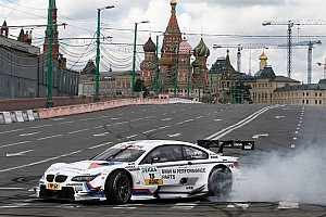 DTM Special feature A spectacular DTM display in the centre of Moscow
