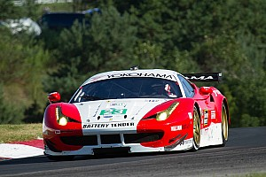 ALMS Qualifying report Keen and Bell to start team AJR Ferrari from fifth row in GT at Mosport