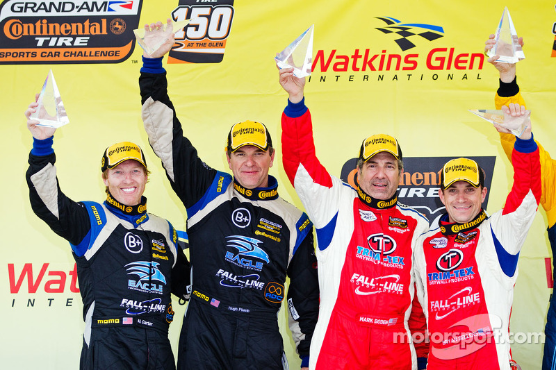 Exciting CTSCC podium finish for Carter and Plumb at The Glen