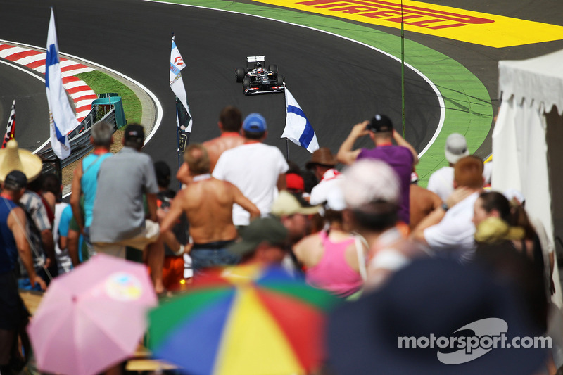 Despite new parts worked well, Sauber took a poor qualifying result at Hungaroring