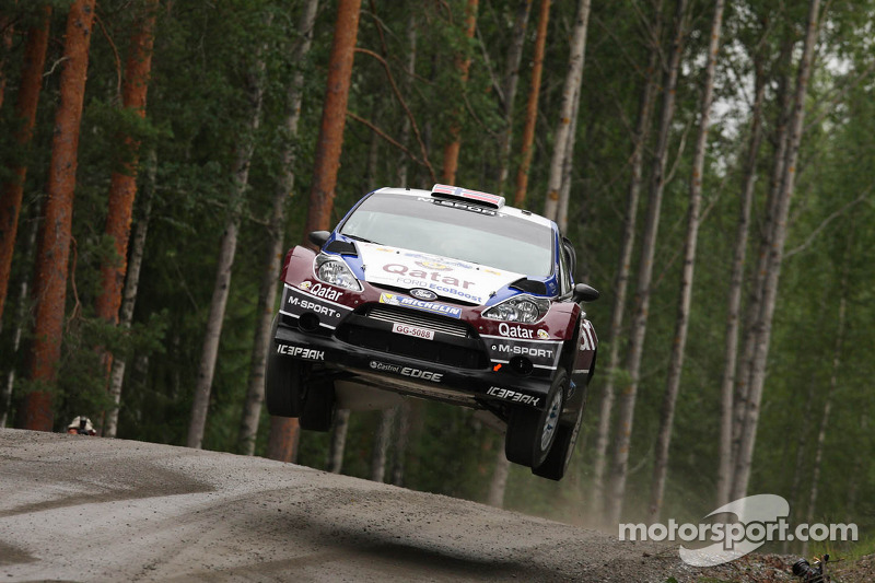 Qatar M-Sport midday quotes on Day 3 in Finland