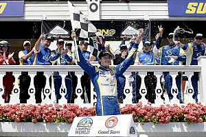 NASCAR Truck Race report BKR's Blaney win his second career series race at Pocono Raceway