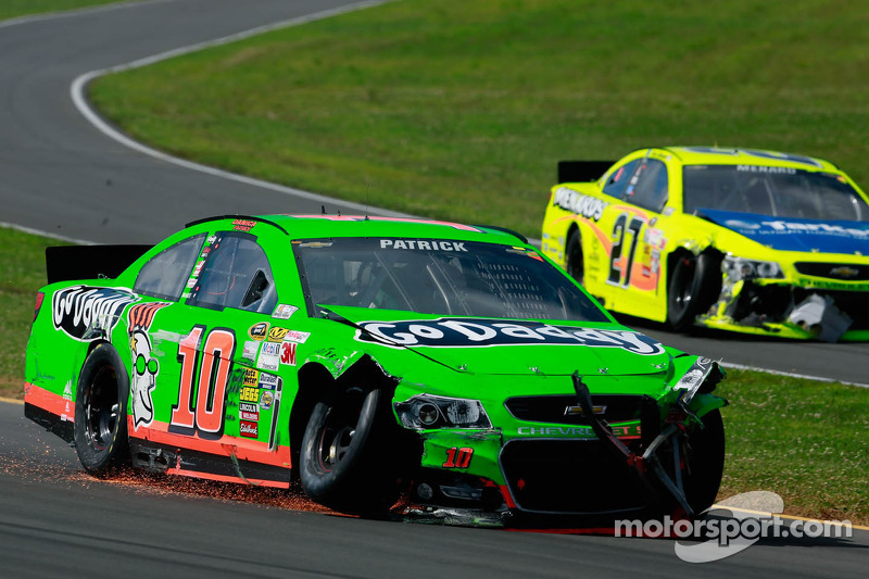 Patrick's strong Pocono run foiled by accident