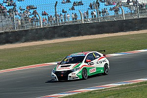 WTCC Race report Monteiro hit by opponent when in 2nd place in Argentina