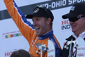 IndyCar Race report Kimball scores his first series win at Mid-Ohio