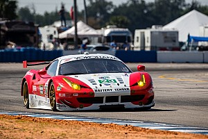 ALMS Qualifying report AJR Ferrari third place qualifying effort negated at Road America