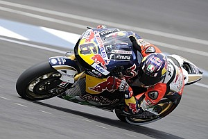 Bradl leaps to top of timing sheets on day one in Brno