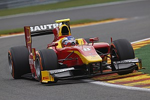 GP2 Qualifying report Fabio Leimer and Racing Engineering qualify second at Spa Francorchamps
