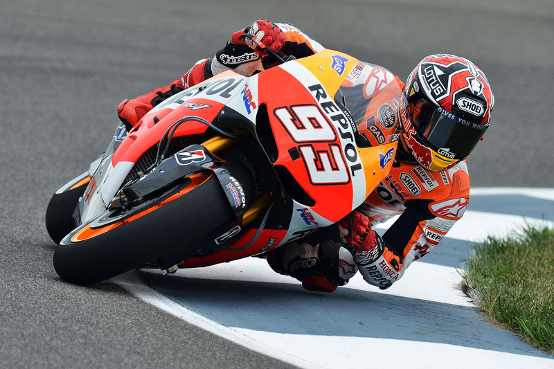 Marquez outfoxes rivals to take his fifth win of the season in Brno