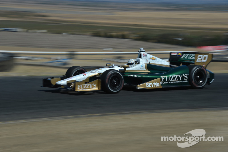 Carpenter and ECR team draw tough qualifying round Saturday at Sonoma