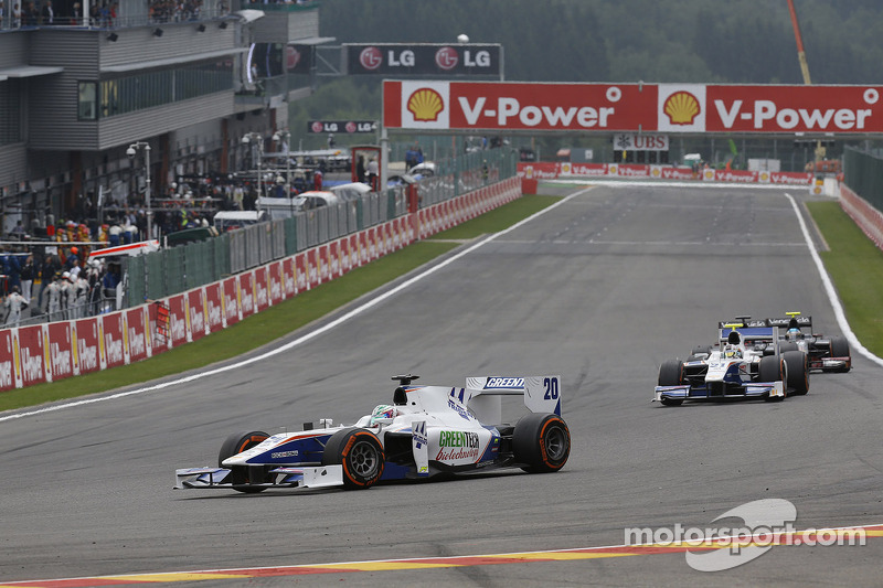 Trident Racing's Berthon cruised to a 13th-place finish at Spa-Francorchamps