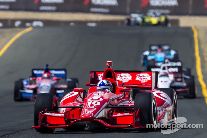 Franchitti leads Team Target at Sonoma with Podium finish