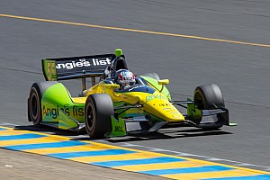 IndyCar Practice report Rookie Vautier leads field Friday in Baltimore