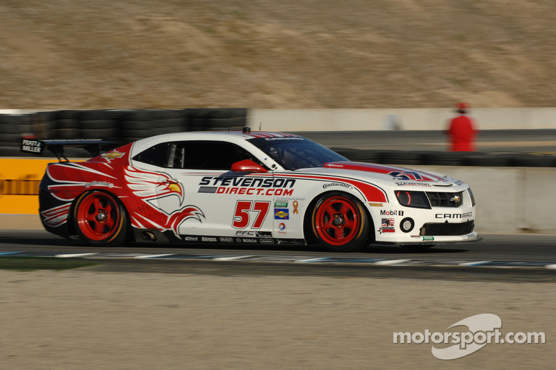 Stevenson Motorsports scores seventh at Laguna Seca